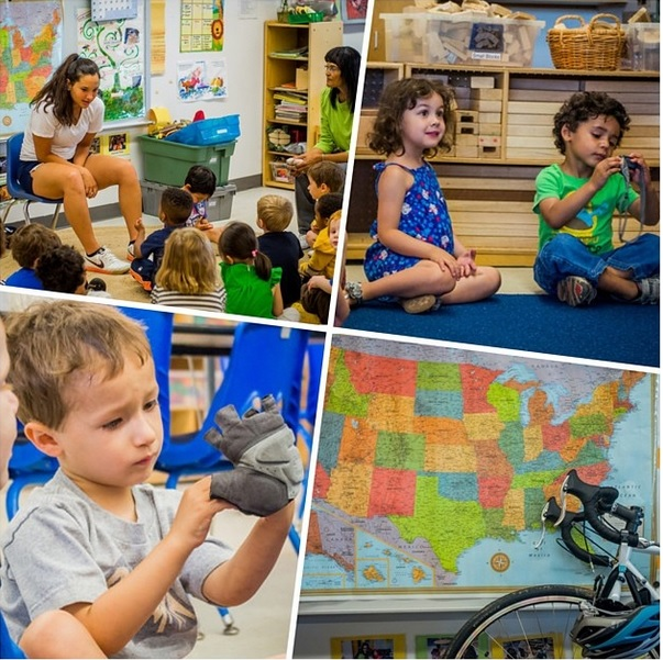 Ellie has been visiting classrooms and teaching the kids about bike parts, gear, and geography!
