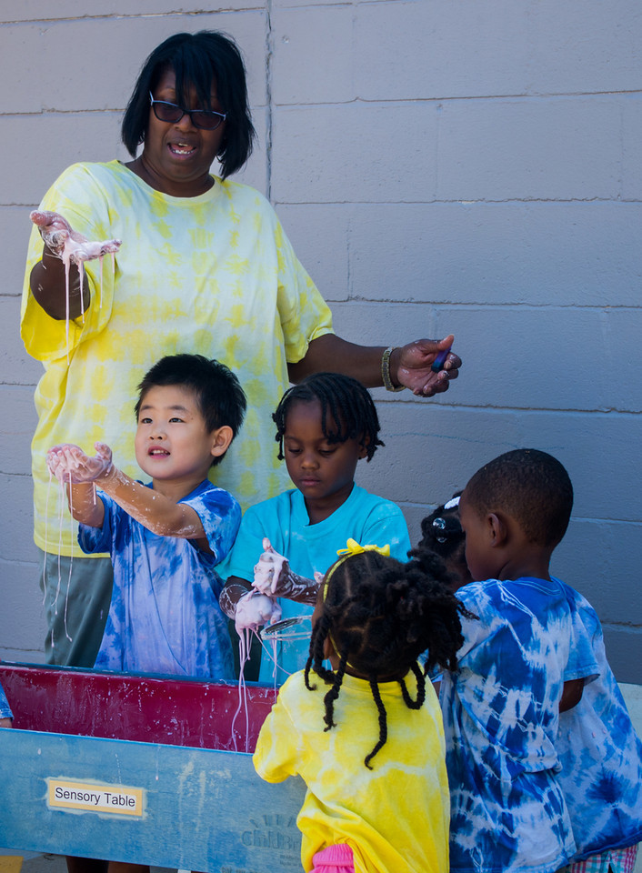Oobleck seems magical, but it is simple science & a wonderful sensory experience.