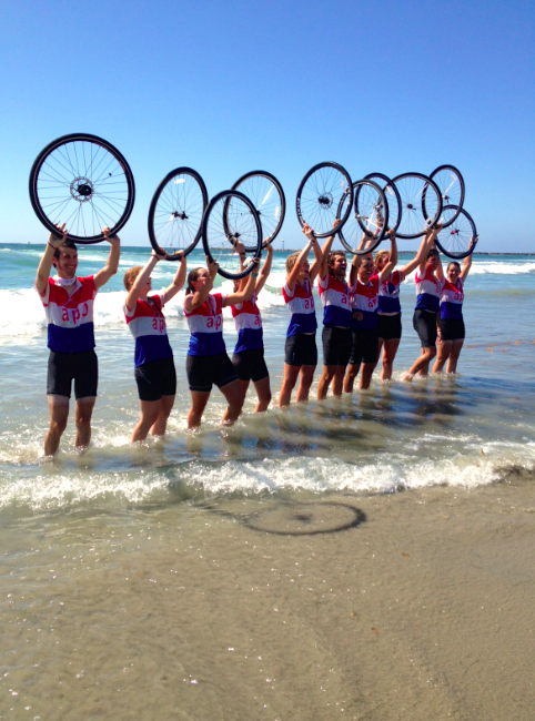 2,780 miles biked from South Carolina to San Diego!
