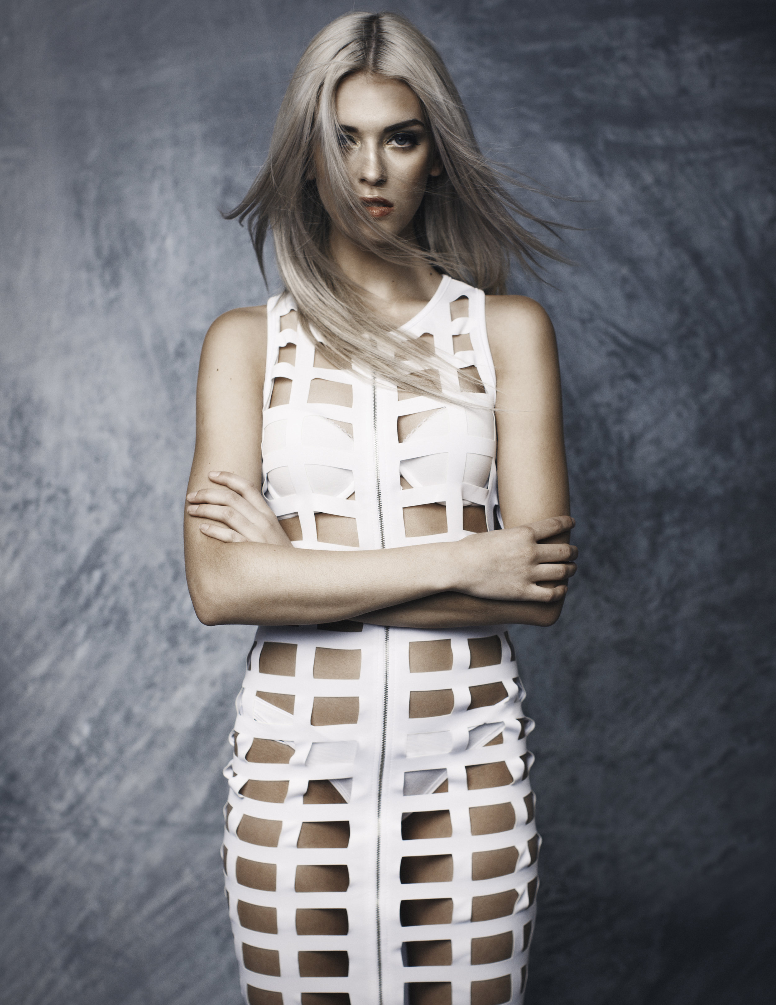 Model: Claire Burry | Makeup Artist/Hairstylist: Jennifer Gjertsen of Jack'd Up Beauty Boutique