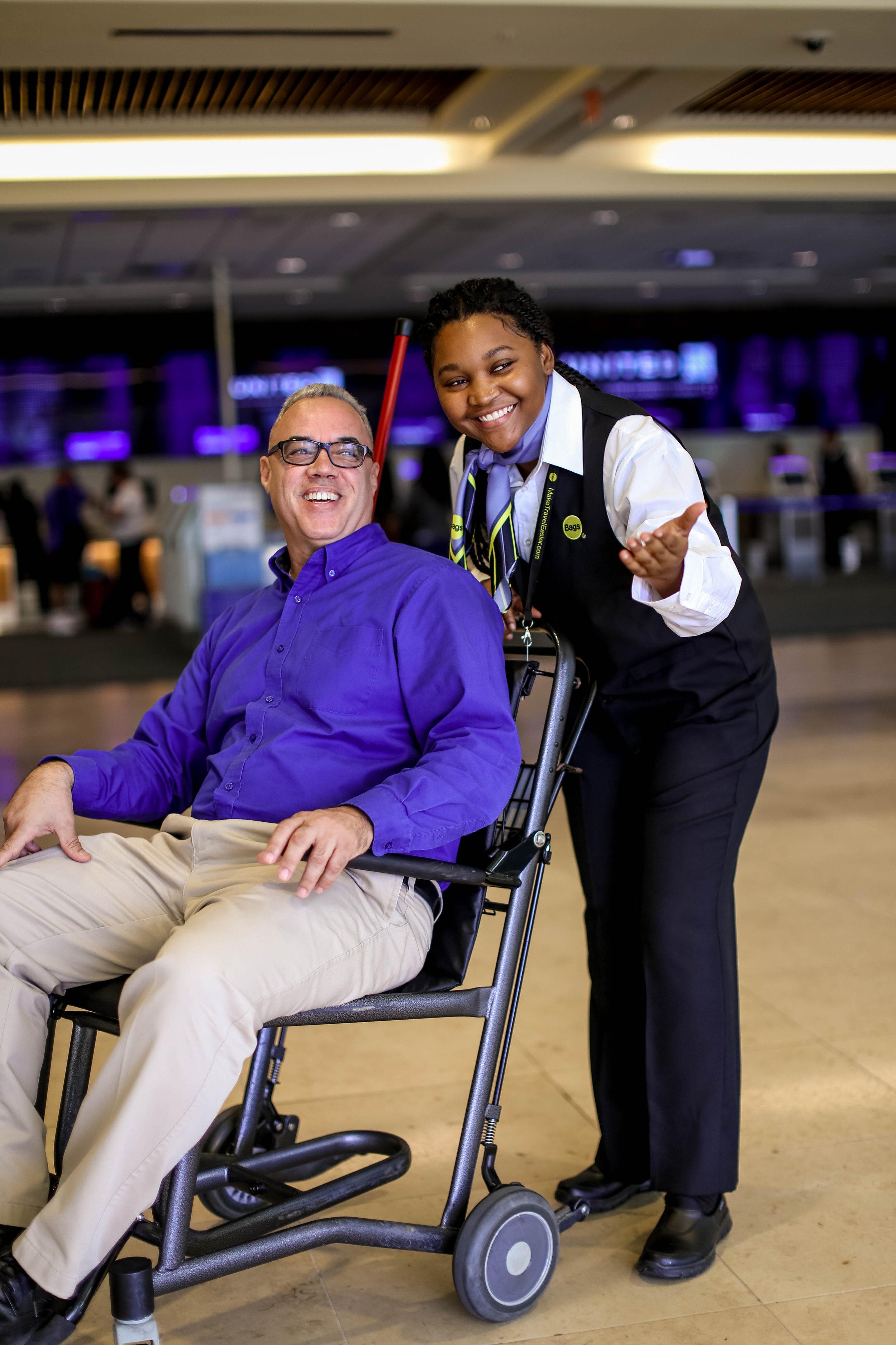 BAGS, Inc  Airport Wheelchair Services — MOR Creative