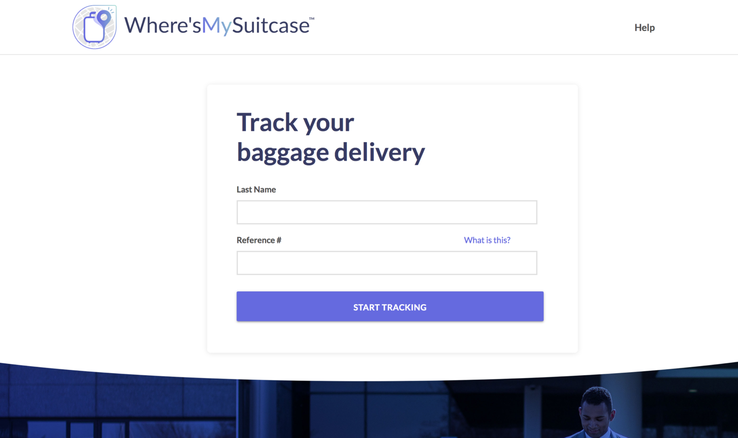 Where's My Suitcase - Bags, Inc. required a re-vamped web experience to better service their airline partners. We designed a user experience optimized for serving their frustrated site visitors in need of baggage recovery.