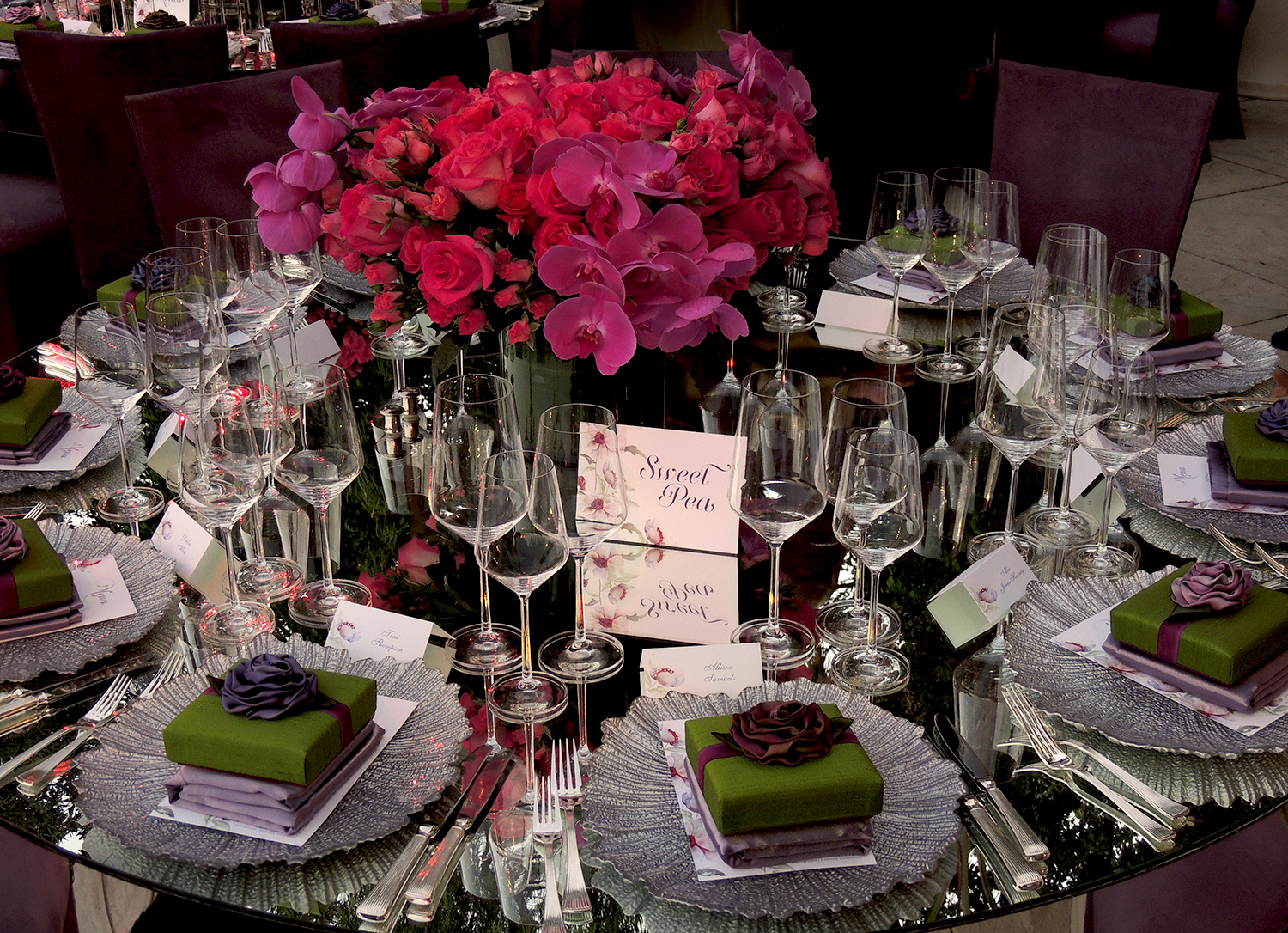 House of Flowers Table