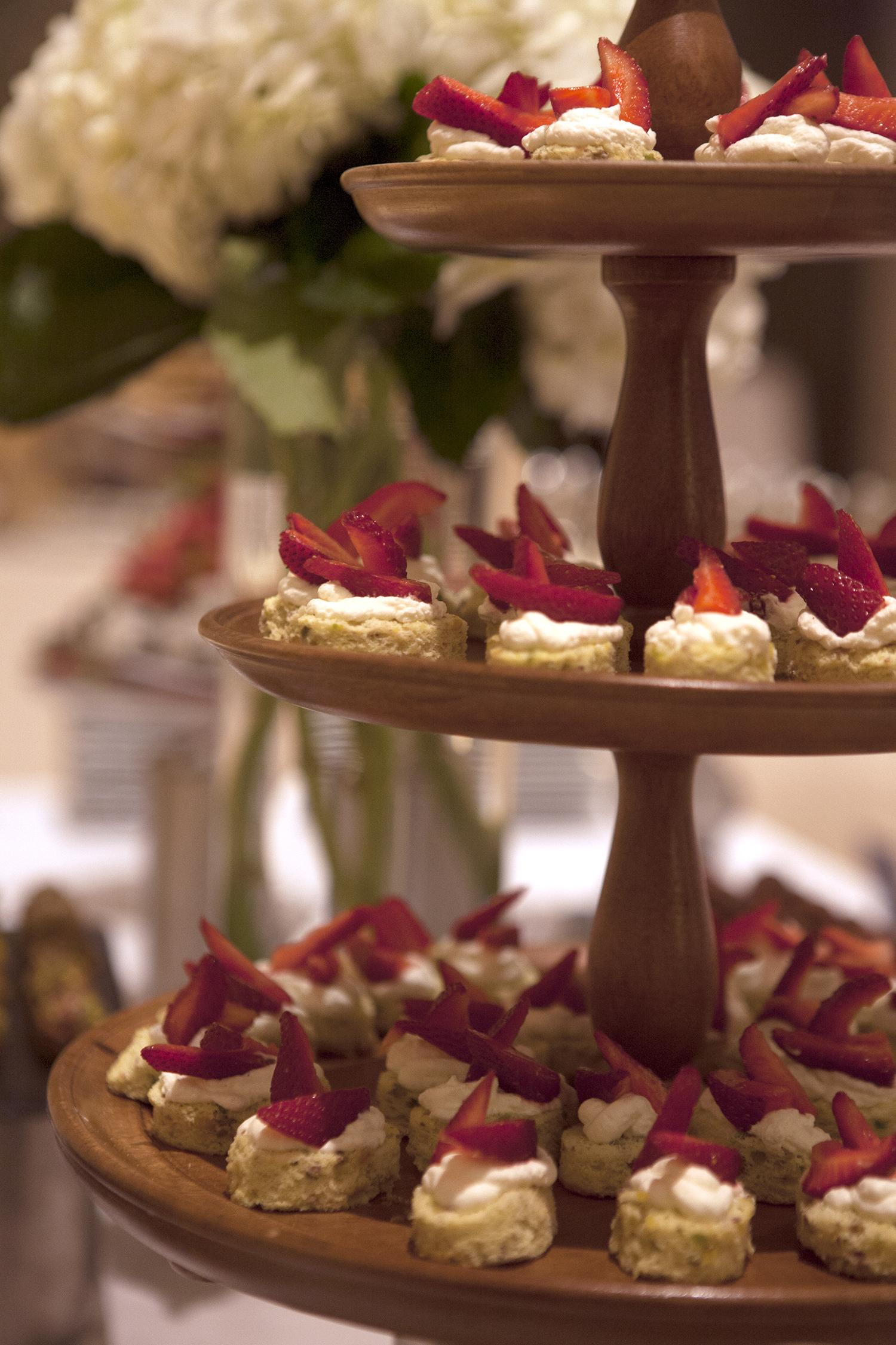 Pistachio Shortcake