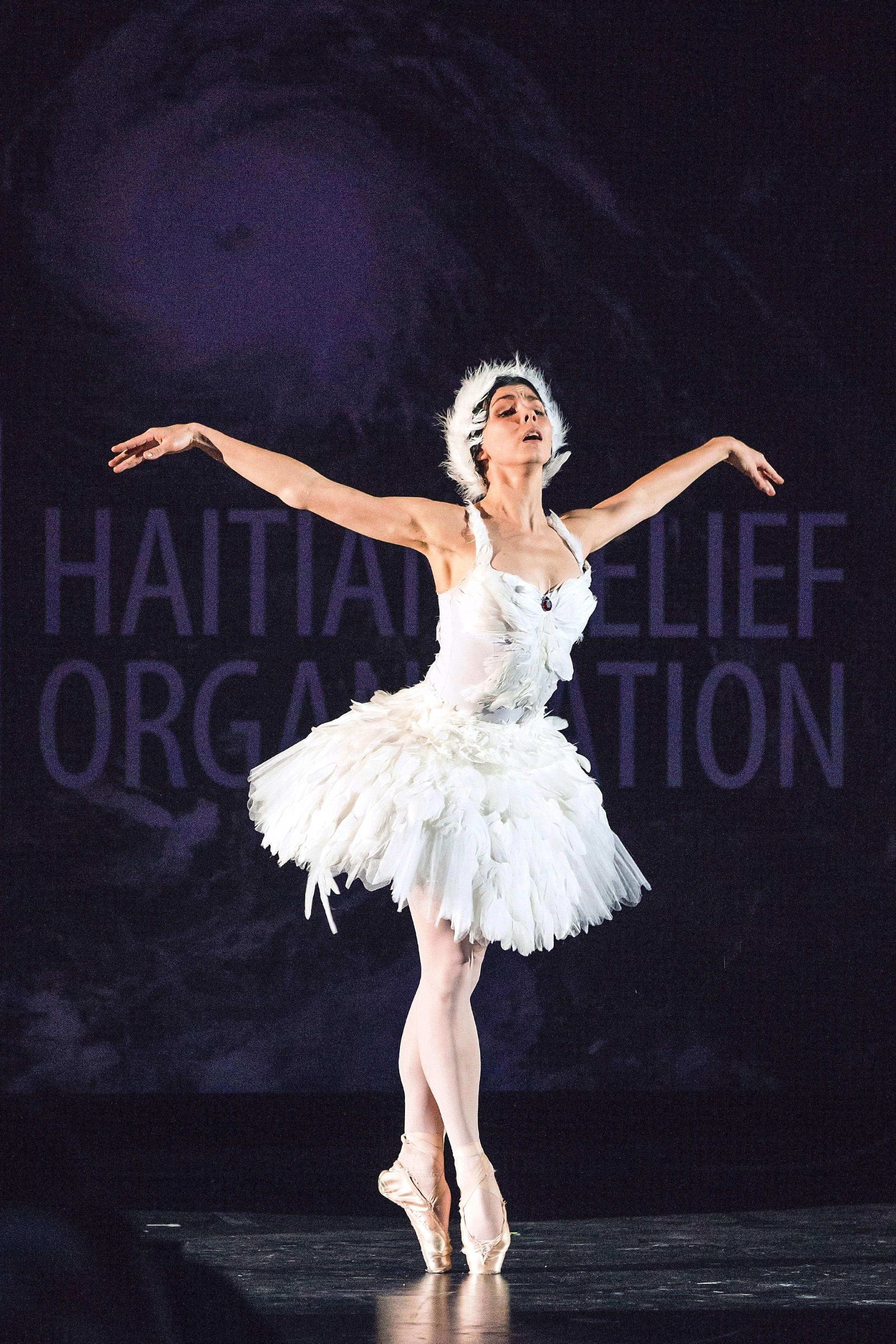 Ballet performer