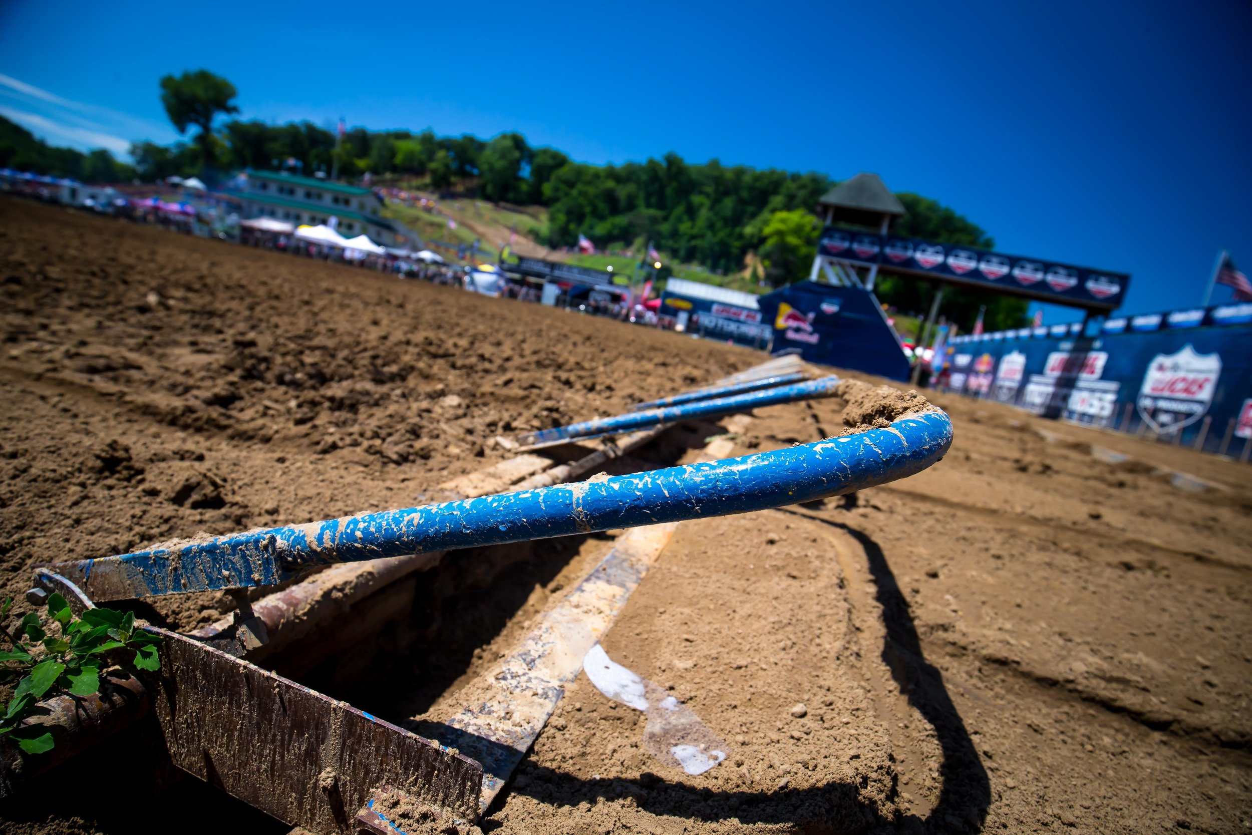 Lucas Oil Pro Motocross Start Gate