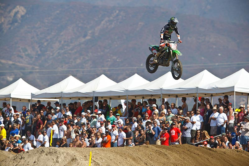 Pala previously served as the season finale of the Lucas Oil Pro Motocross Championship for back-to-back seasons in 2010 and 2011. (Photo: Simon Cudby)