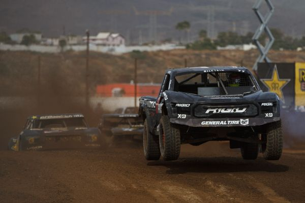 Jerett Brooks took the Pro 2 win on Saturday Courtesy Lucas Oil Off Road Racing Series