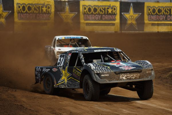 RJ Anderson charged to Saturday's Pro 4 win Courtesy Lucas Oil Off Road Racing Series