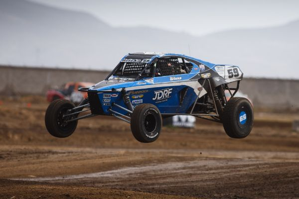 Trevor Briska took the checkered flag in Pro Buggy, but was ultimately disqualified Courtesy Lucas Oil Off Road Racing Series