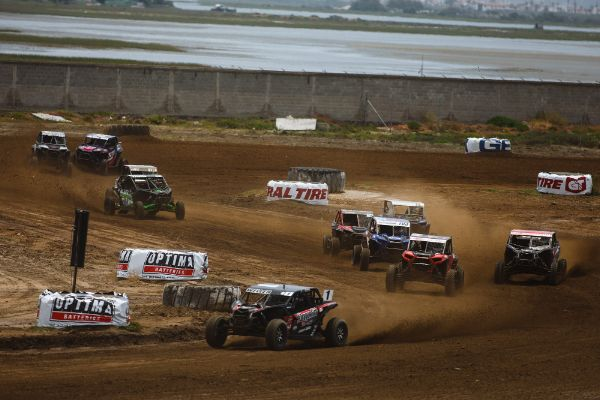 Corry Weller (1) raced to her third straight Turbo UTV win Courtesy Lucas Oil Off Road Racing Series