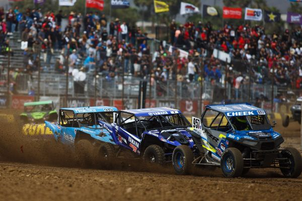 Heger (1) worked his way into the Production UTV lead and raced to victory Courtesy Lucas Oil Off Road Racing Series