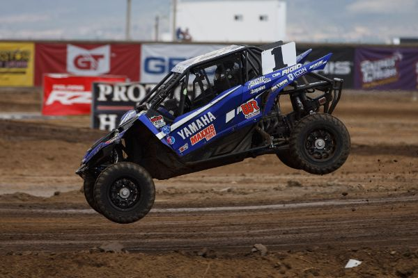 Heger capped off his perfect weekend in Baja with a dominant Production UTV win Courtesy Lucas Oil Off Road Racing Series