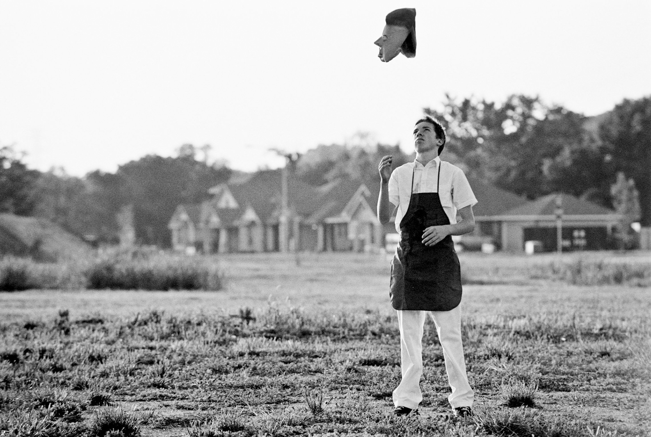 """Behind the scenes of """"Scenes From the Suburbs,"""" by Spike Jonze and Arcade Fire, Austin, Texas, April, 2010."""