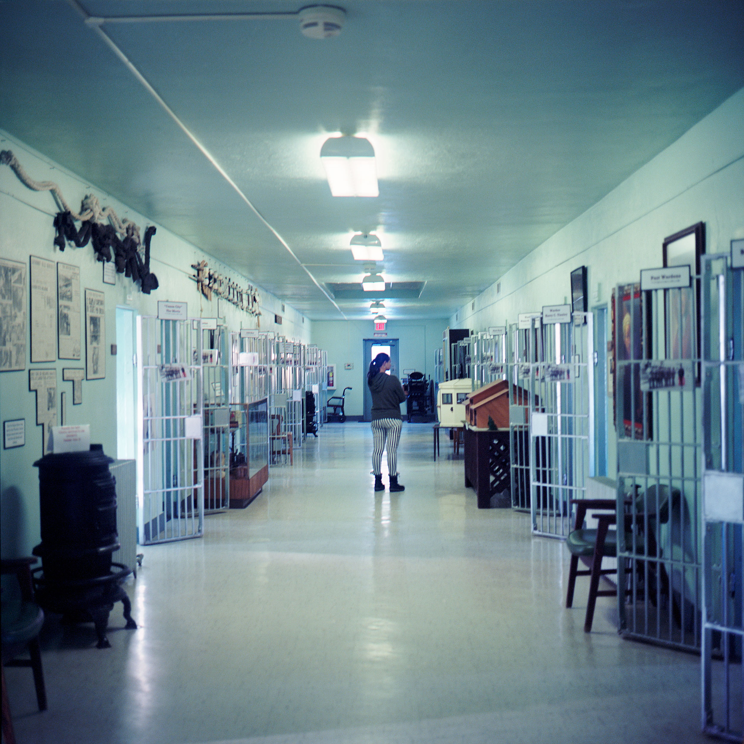 "Museum of Colorado Prisons, Cañon City, Colorado. The website compels visitors to ""unlock the past and experience the colorful history of prison life!"""