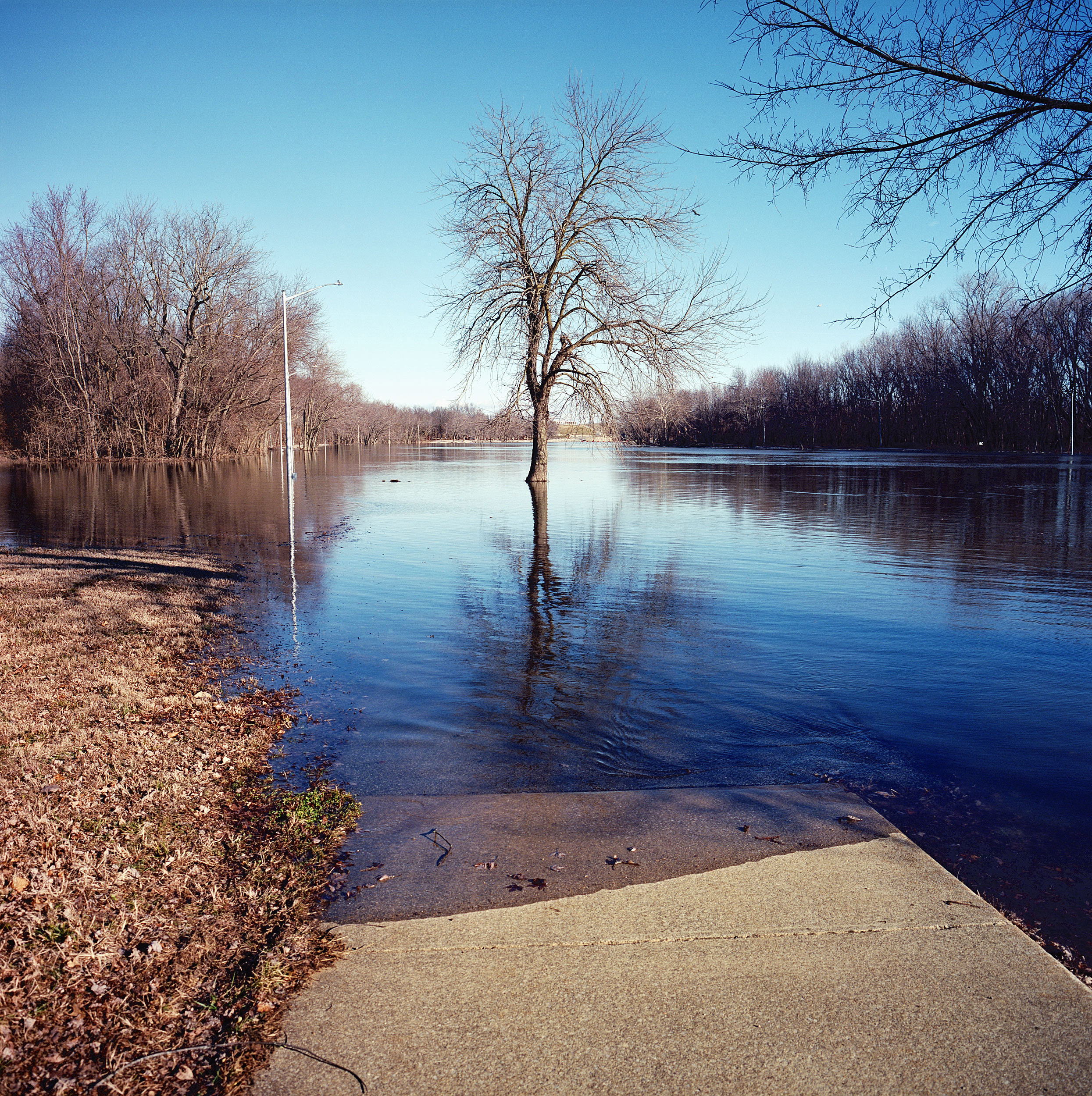 Kaskaskia river, Carlyle, Illinois.