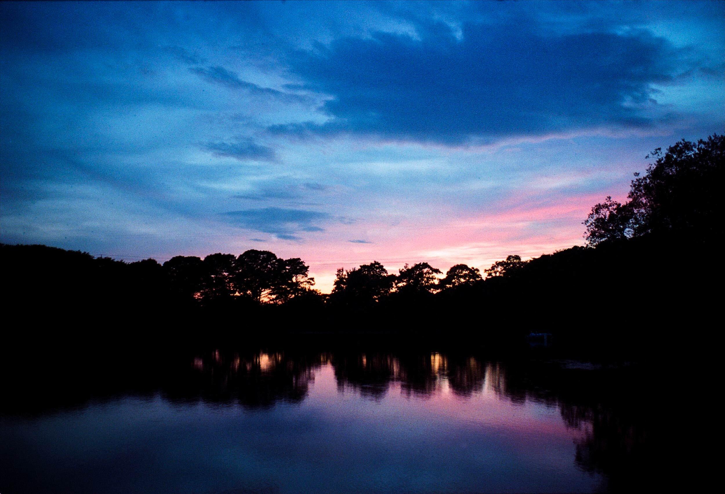Sunset on Depot Pond