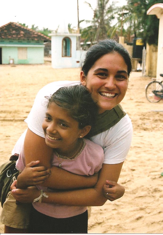2005 Kallar: Jasmine and her beautiful friend.