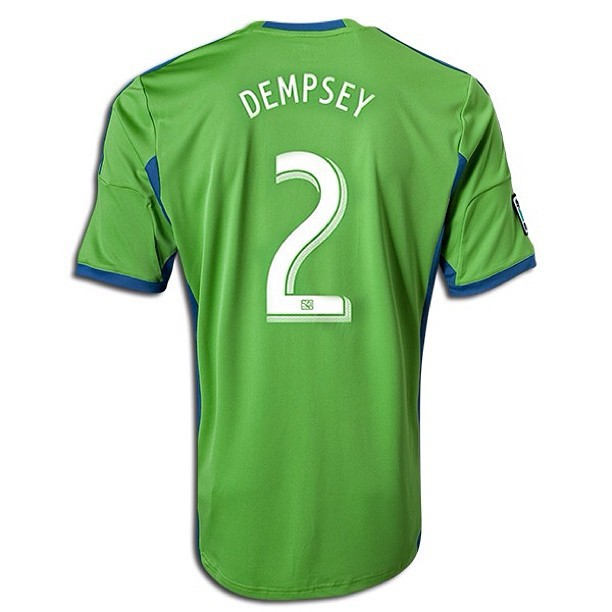 Raffle Ticket for an autographed Clint Dempsey Jersey