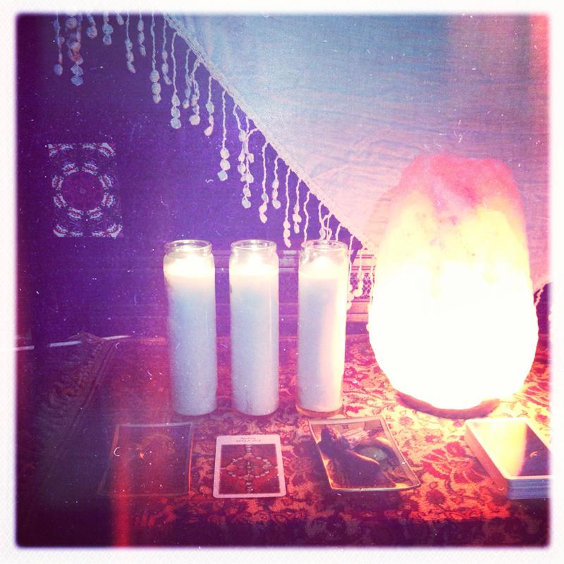marissa's meditation space