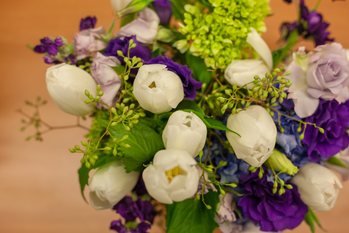 There is not a better of a way to repurpose wedding flowers.