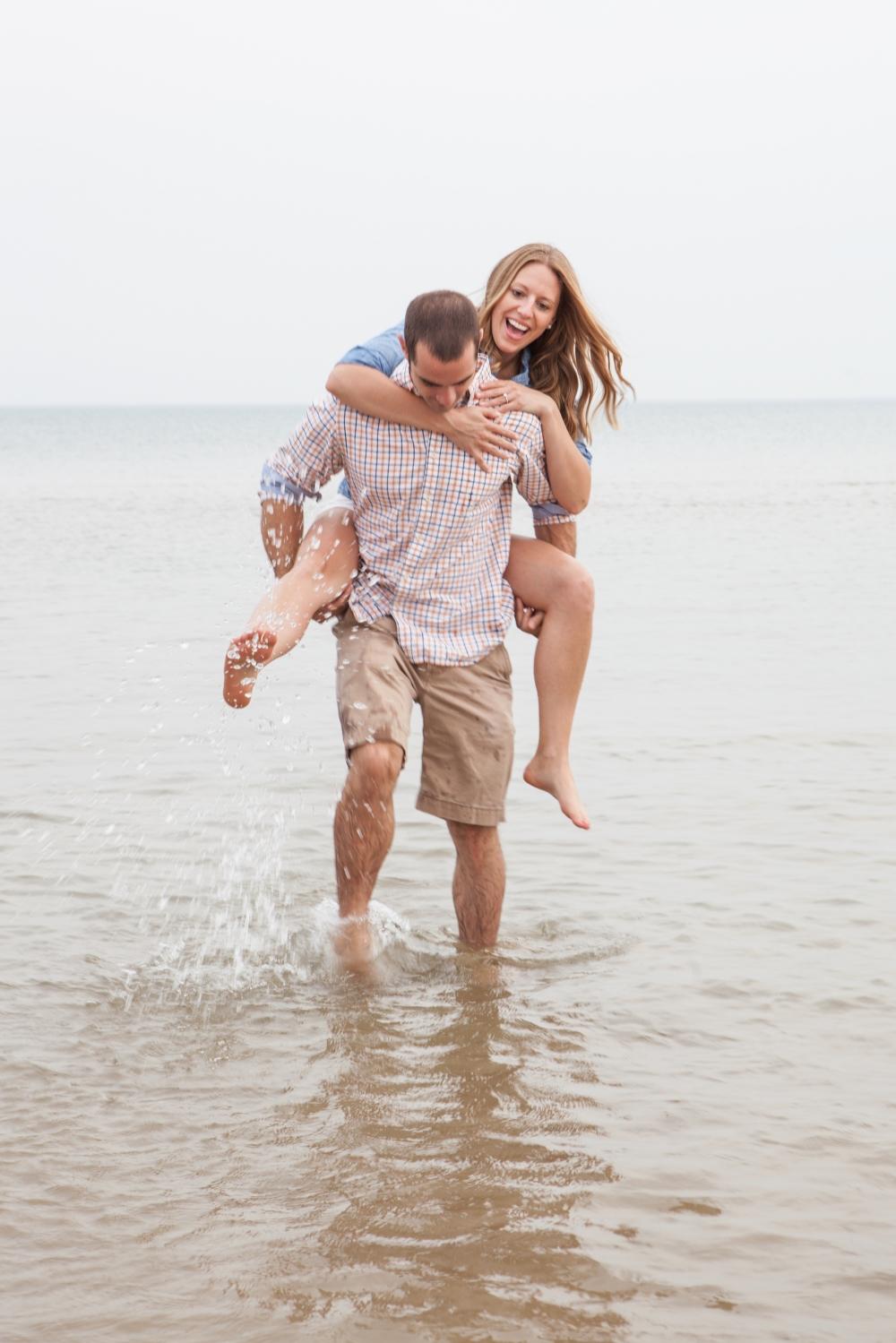 Montrose Beach Engagement