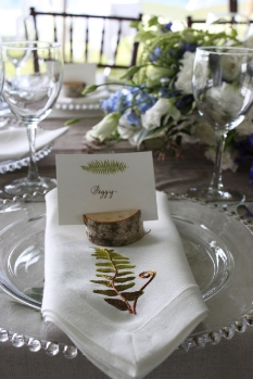 Small Birch Discs  small, slotted, for elevating votive candles, holding place cards  $1 each