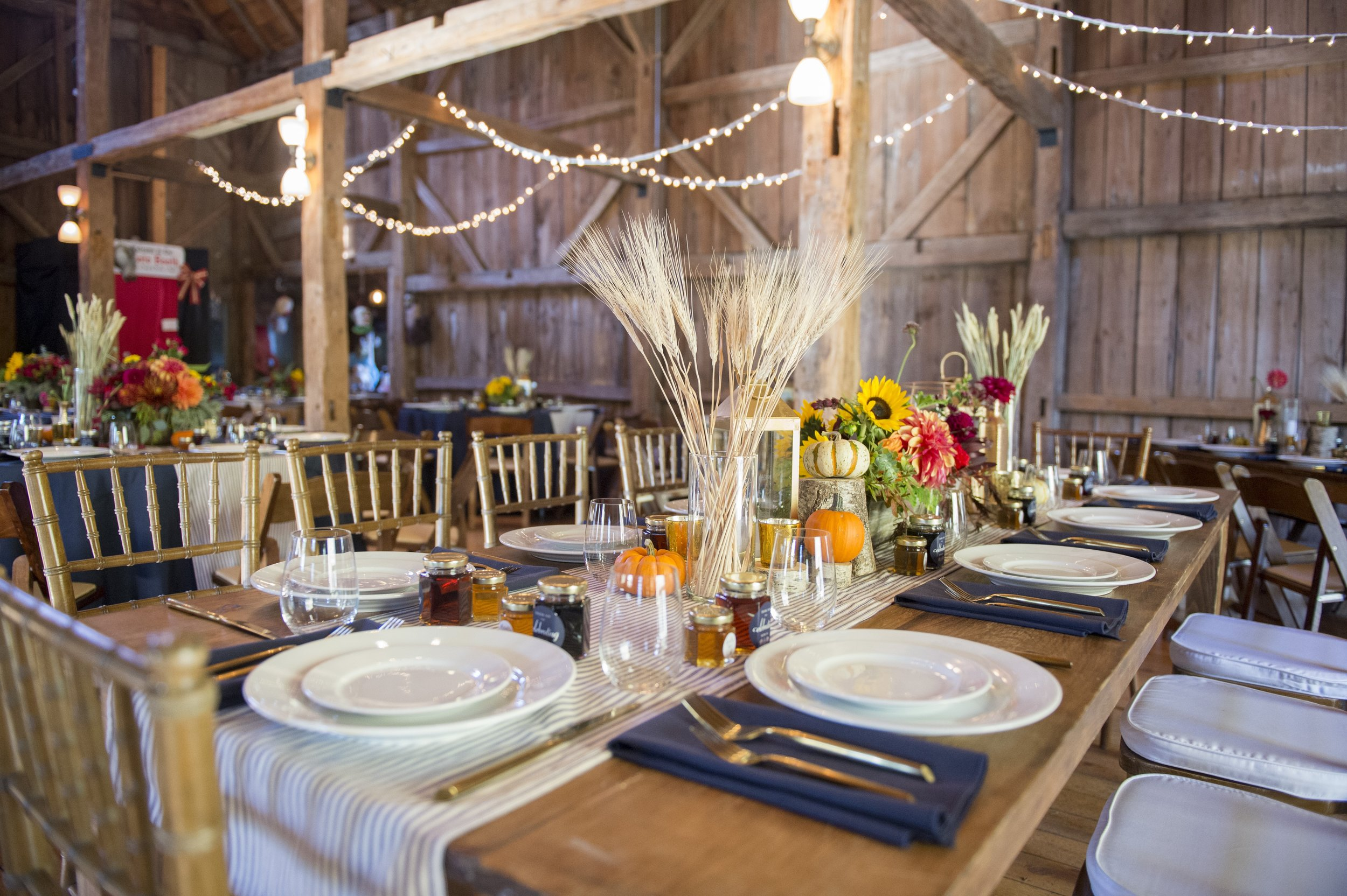 Maine Seasons Events Autumn barn wedding by Jordan Moody for Brea Mcdonald