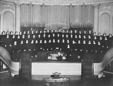 First Covenant Church Choir - 1939