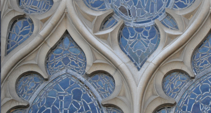 Much of gothic architecture is inspired by nature.
