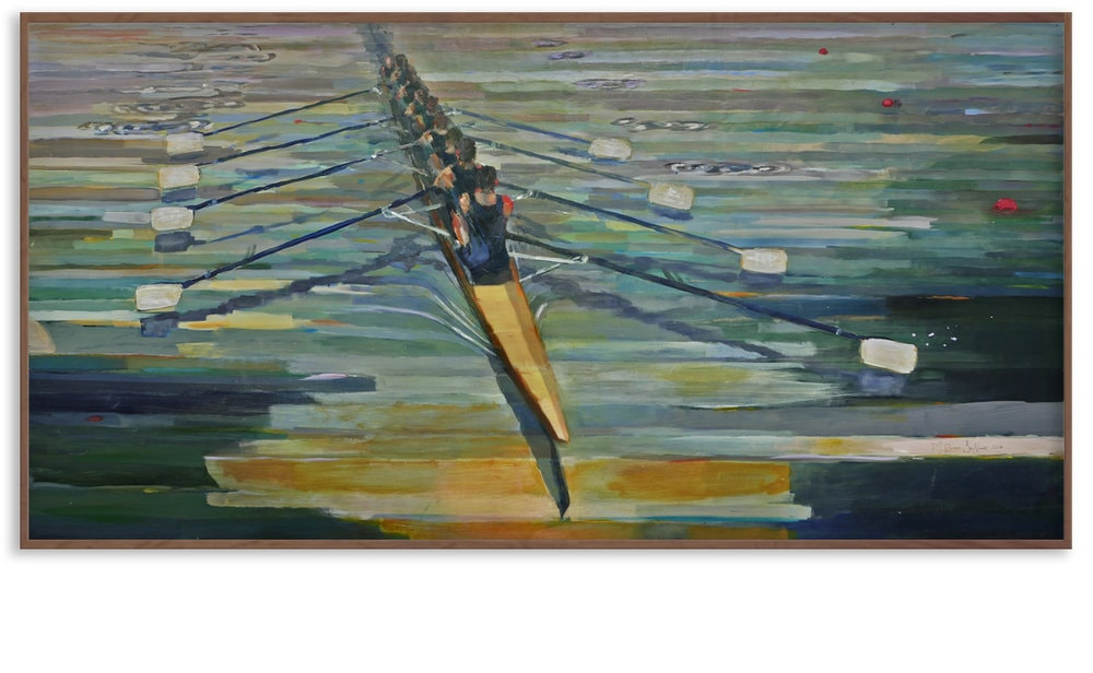 SWING is on permanent exhibit at the rowing facility of the University of Notre Dame