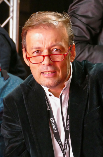 Jean-Luc Mège at the Lyon Film Festival Lumière in October 2016 (photo : Sandrine Thesillat)