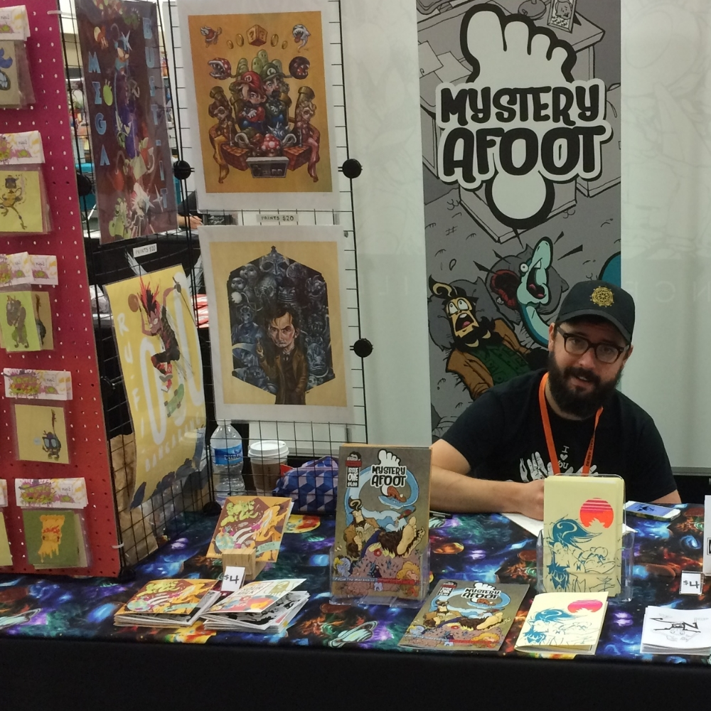 Our sweet booth setup