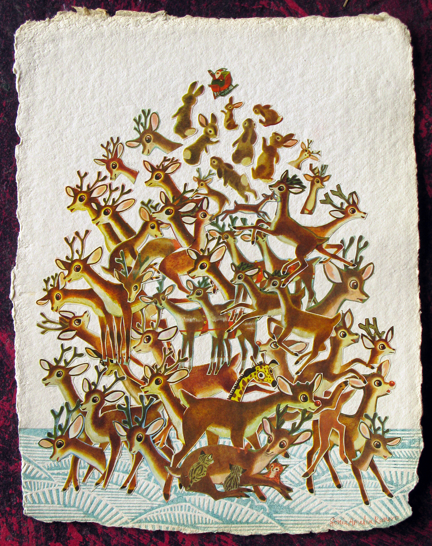 Ruldoph the Reindeer Pile