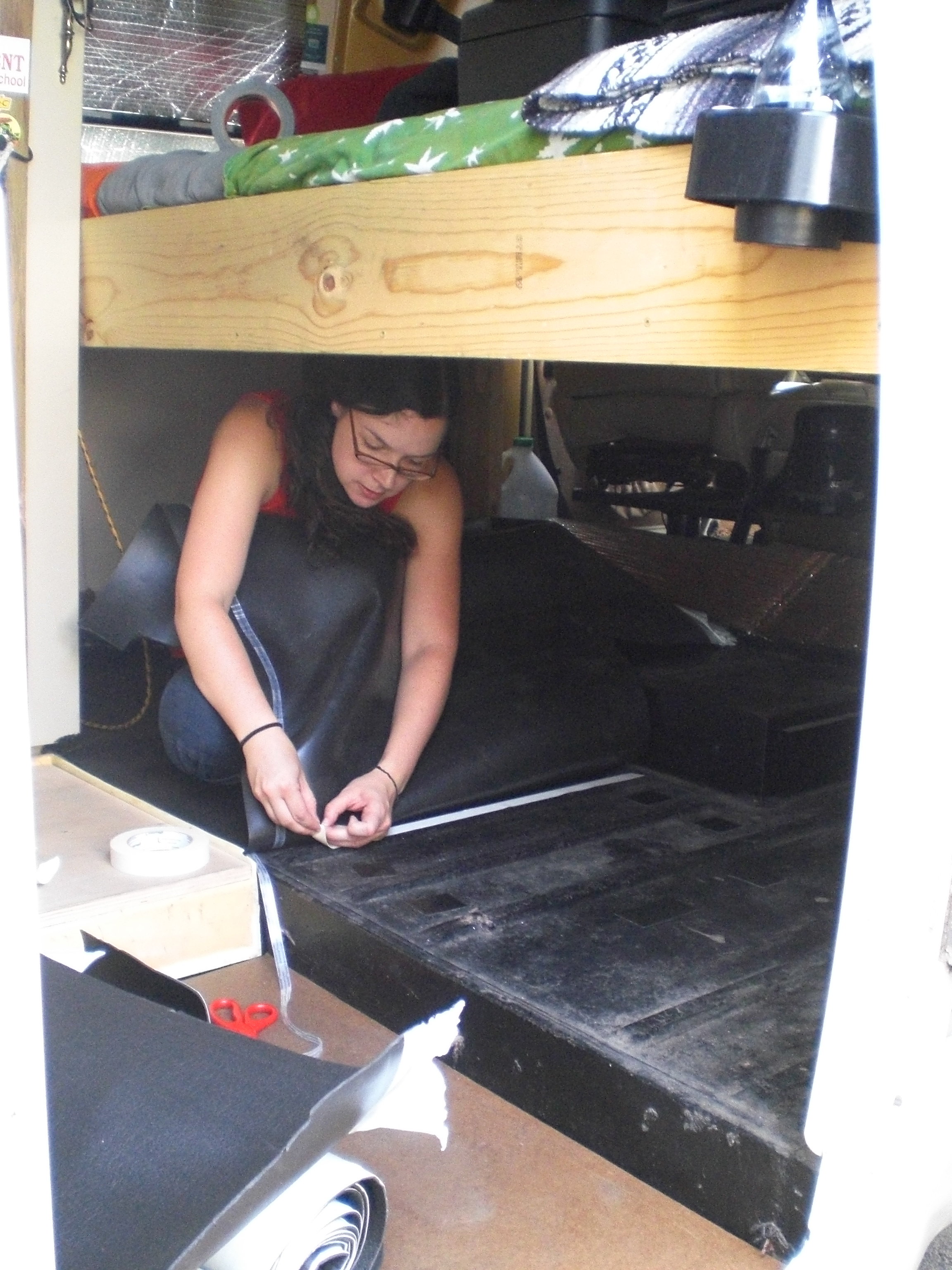 Winnebago Floor Insulation