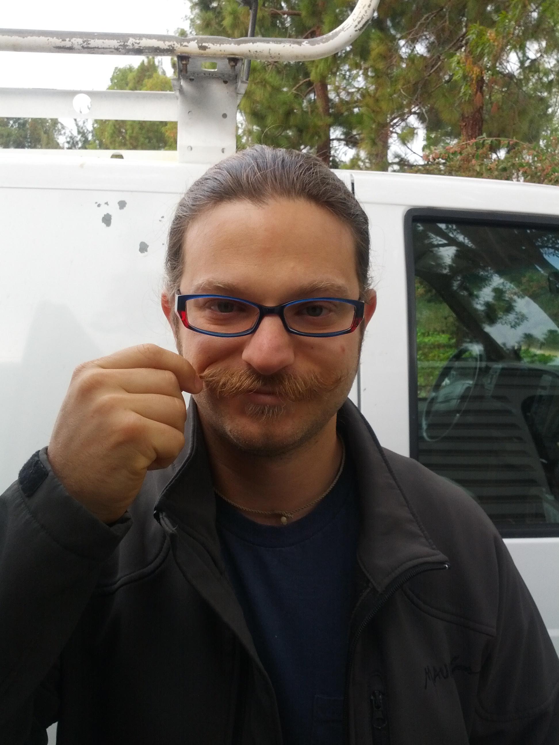 Pete mustache