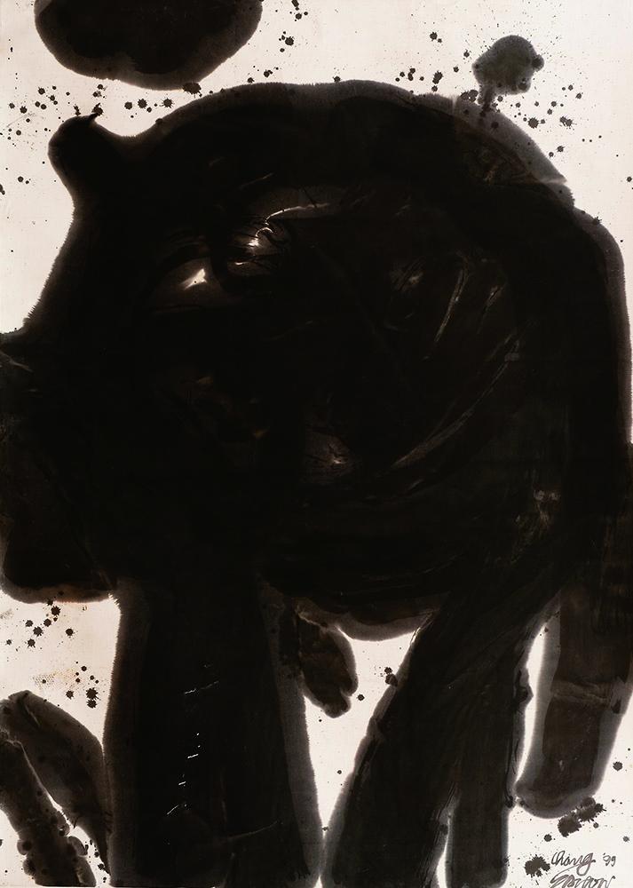 意形 Idea and Shape Series 210x142cm 1999 水墨‧宣紙 Chinese Ink on rice paper.jpg