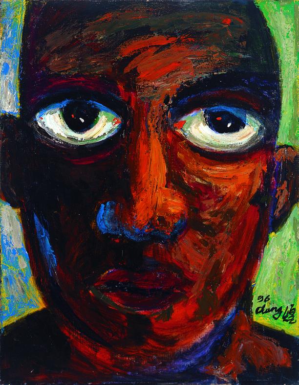 問系列 Question Series 116x91cm 1996 油畫‧畫布 oil on canvas (3).jpg