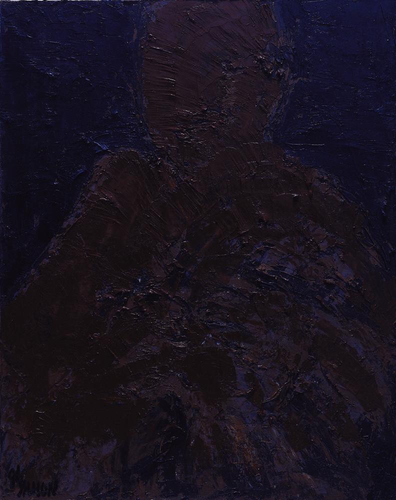 黑禪系列 Black Zen Series 91x72.5cm 2000 油畫‧畫布 oil on canvas.jpg