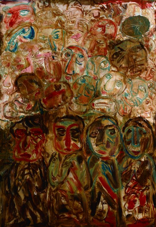 百面相 Faces 200x135cm 2011 壓克力‧畫布  Acrylic on canvas(9).jpg