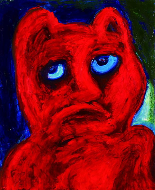 眾生相系列 Sentient Beings Series 100x80cm 2011 壓克力‧畫布   Acrylic on canvas (1).jpg