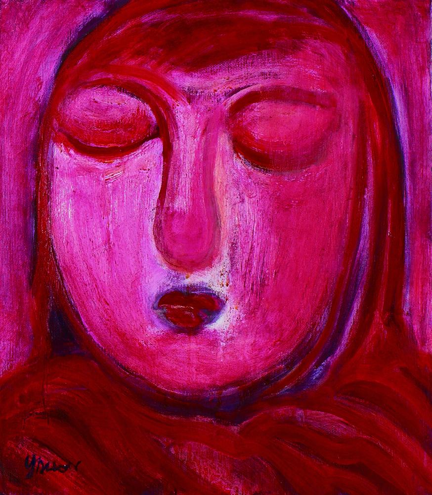眾生相系列 Sentient Beings Series 53x45cm 2011 壓克力‧畫布  Acrylic on canvas(2).jpg