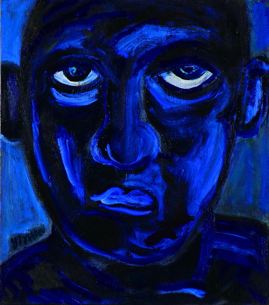 眾生相系列 Sentient Beings Series 53x45cm 2011 壓克力‧畫布  Acrylic on canvas(4).jpg