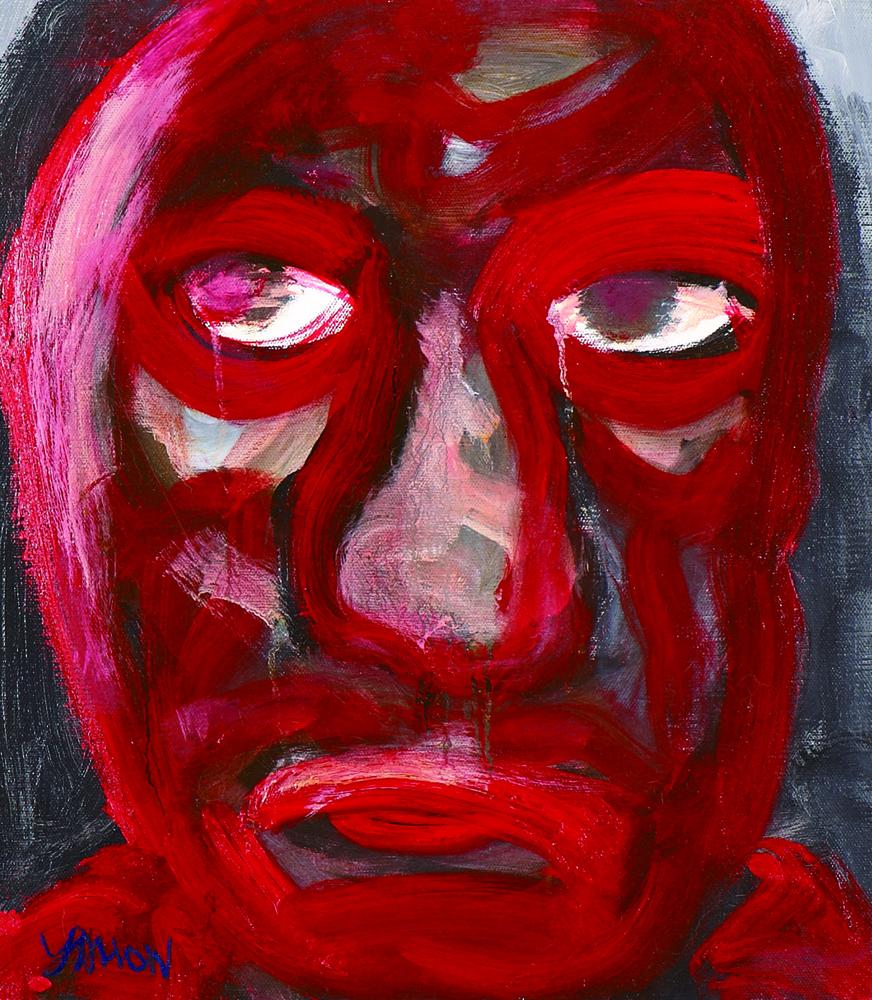 眾生相系列 Sentient Beings Series 53x45cm 2011 壓克力‧畫布  Acrylic on canvas(6).jpg