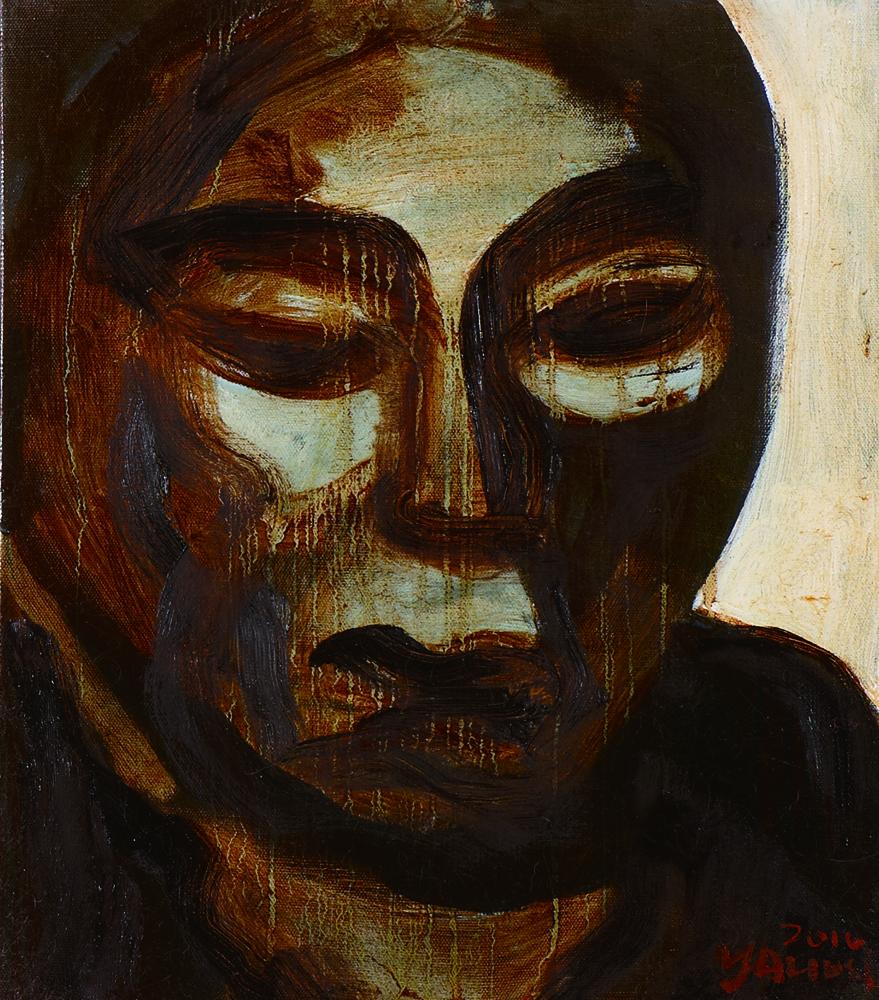 眾生相系列 Sentient Beings Series 53x45cm 2011 壓克力‧畫布  Acrylic on canvas(8).jpg