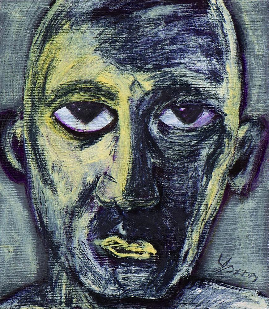 眾生相系列 Sentient Beings Series 53x45cm 2011 壓克力‧畫布  Acrylic on canvas(7).jpg