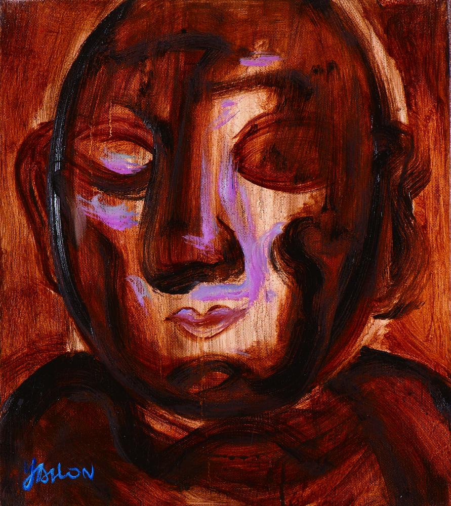眾生相系列 Sentient Beings Series 53x45cm 2011 壓克力‧畫布  Acrylic on canvas(10).jpg