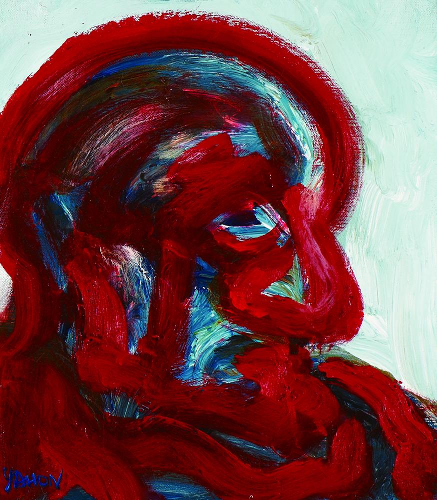 眾生相系列 Sentient Beings Series 53x45cm 2011 壓克力‧畫布  Acrylic on canvas(12).jpg