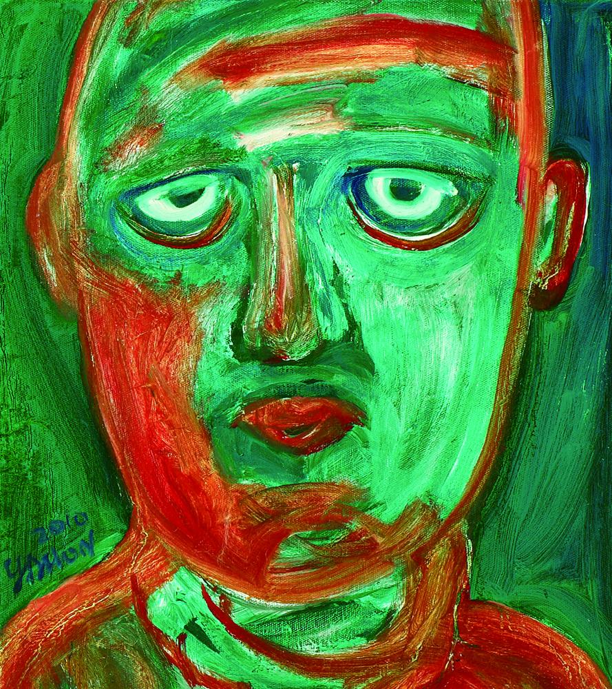 眾生相系列 Sentient Beings Series 53x45cm 2011 壓克力‧畫布  Acrylic on canvas(11).jpg
