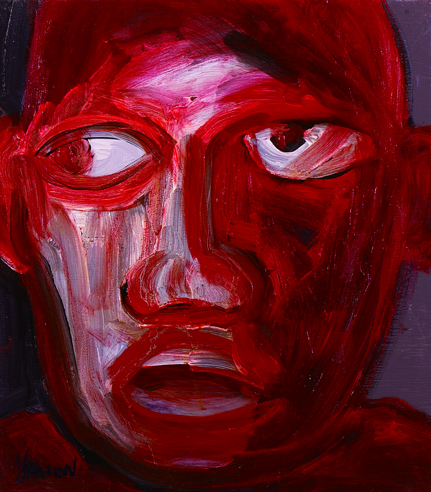 眾生相系列 Sentient Beings Series 53x45cm 2011 壓克力‧畫布  Acrylic on canvas(17).jpg